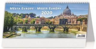 Města Evropy/Mestá Europy - stolní kalendář 2020