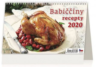 Babiččiny recepty - stolní kalendář 2020