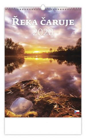 Řeka čaruje - nástěnný kalendář 2020