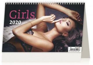 Girls ČR/SR - stolní kalendář 2020