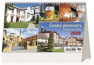 České pivovary nejen na kole - stolní kalendář 2020