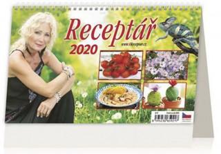Receptář - stolní kalendář 2020