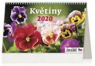 Květiny - stolní kalendář 2020