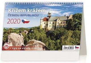 Křížem krážem Českou republikou - stolní kalendář 2020