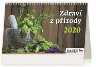 Zdraví z přírody - stolní kalendář 2020