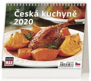 MiniMax Česká kuchyně - stolní kalendář 2020