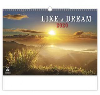 Like a Dream - nástěnný kalendář 2020