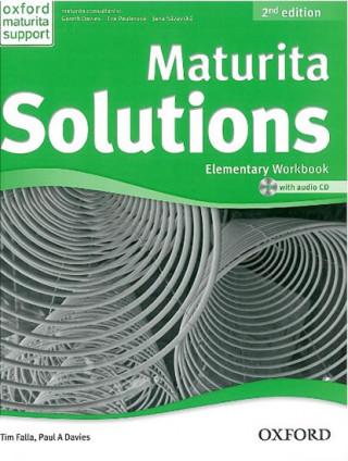 Kniha Maturita Solutions 2nd Edition Elementary Workbook Czech Edition Tim Falla