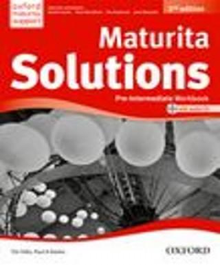 Kniha Maturita Solutions 2nd Edition Pre-Intermediate Workbook Czech Edition Tim Falla