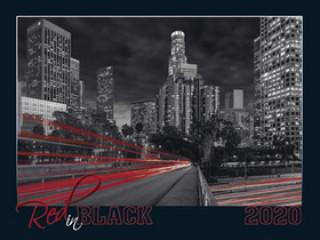 Red in black 2020 - nástěnný kalendář