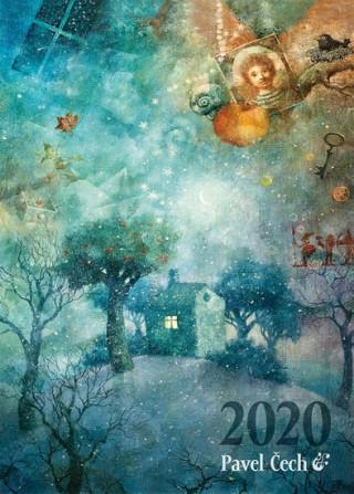 Pavel Čech - nástěnný kalendář 2020