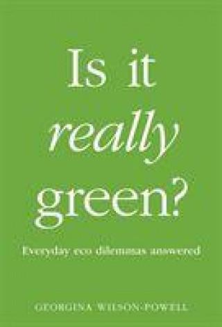 Kniha Is It Really Green? G WILSON-POWELL
