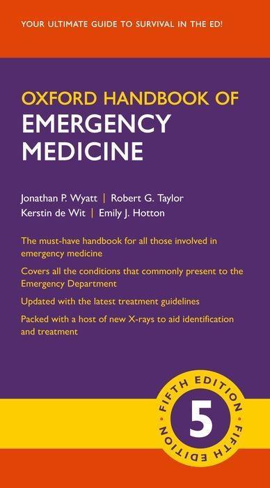 Kniha Oxford Handbook of Emergency Medicine JONATHAN P.; WYATT