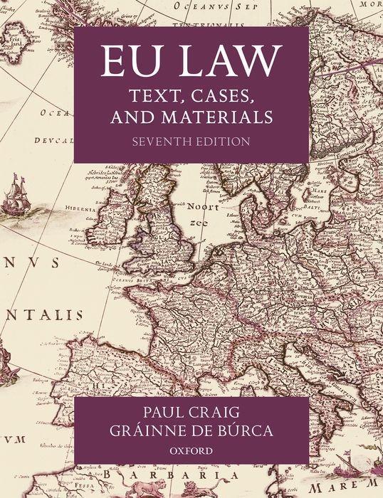 Carte EU Law PAUL; DE B RC CRAIG