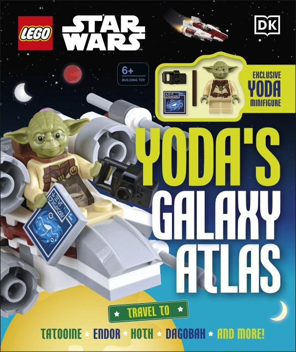 Carte LEGO Star Wars Yoda's Galaxy Atlas Simon Hugo