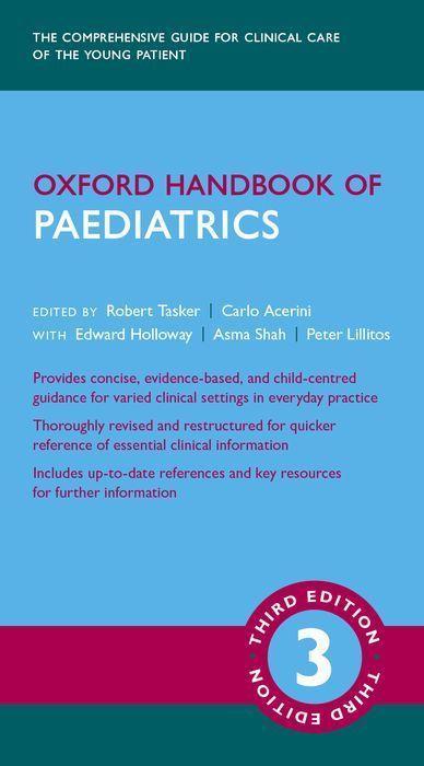 Kniha Oxford Handbook of Paediatrics 3e ROBERT C TASKER