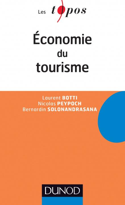 Carte Economie du Tourisme Nicolas Peypoch