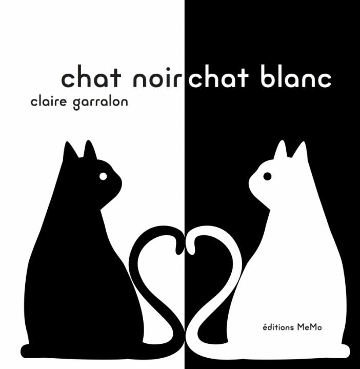 Carte CHAT NOIR, CHAT BLANC Claire GARRALON