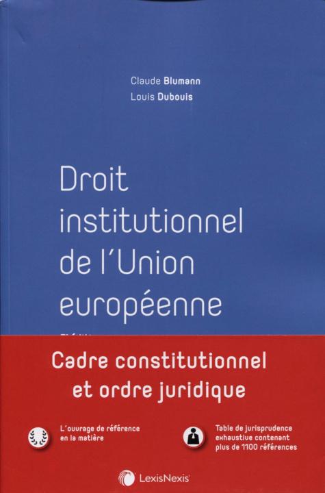 Carte Droit institutionnel de l'Union européenne Blumann