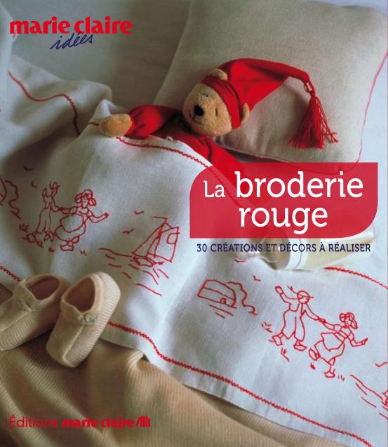 Könyv La broderie rouge