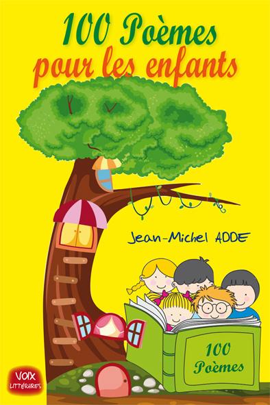 Carte 100 poèmes pour les enfants ADDE