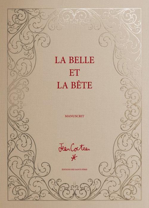 Könyv La Belle et la bête (MANUSCRIT) Cocteau