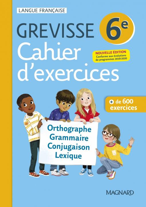 Carte Cahier Grevisse 6e (2021) CARRÈRE