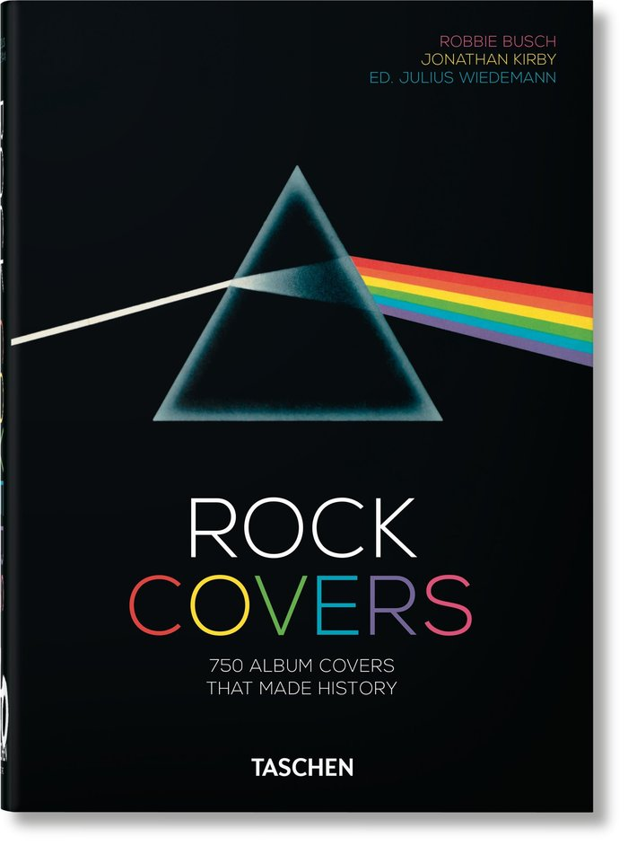 Könyv Rock Covers. 40th Anniversary Edition Busch